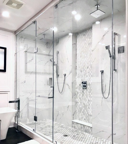 Master Bathroom Shower Lighting Design Ideas