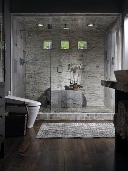 Dusjbelysning Master Bathroom Design