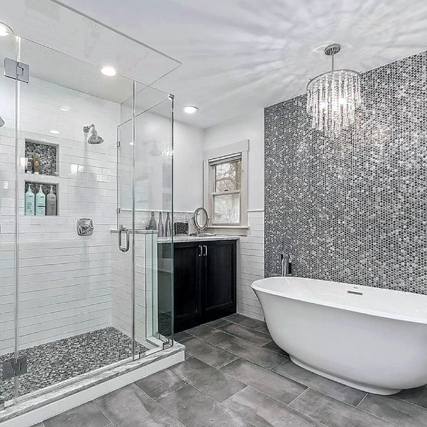 Moasic Bathtub Tile Ideas