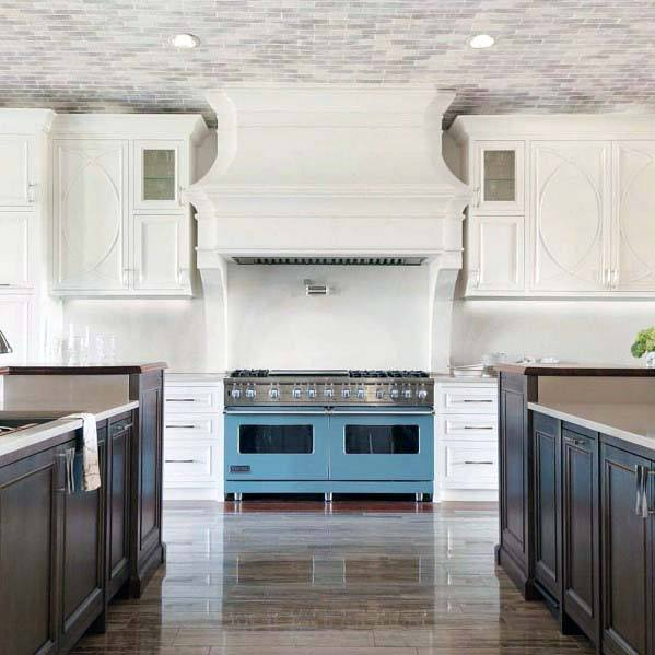 Cool Kitchen Hood Design Ideas Painted White