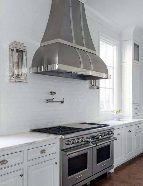 Superb Kitchen Hood Ideen Metall