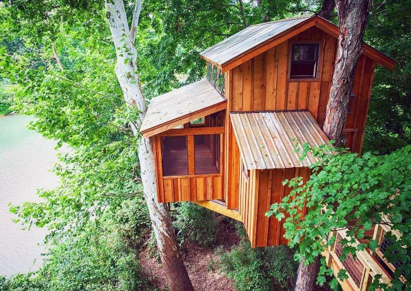 Idee di lusso Treehouse
