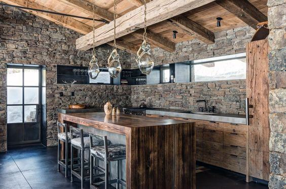 Erstaunliche Rustic Home Bar Inspiration
