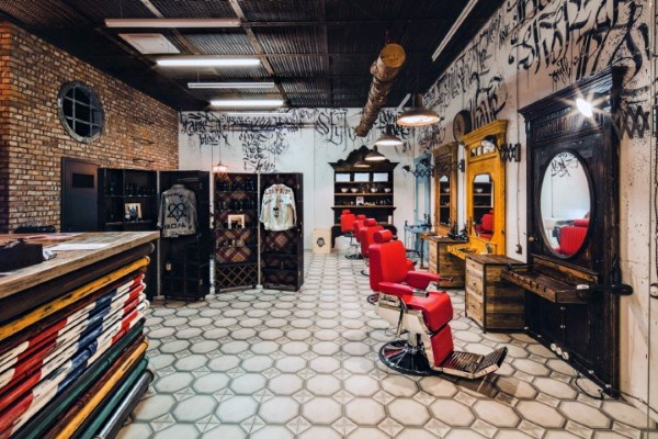 Barber Shop Interior Designs
