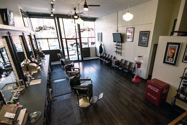 Gentlemens Barber Shop Designs