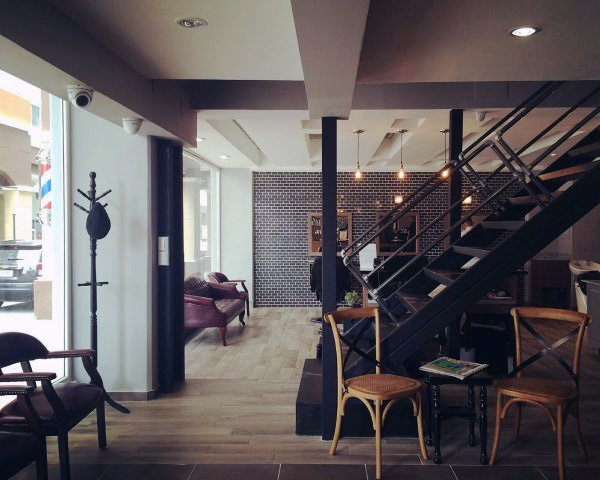 Loft Barber Shop Designs