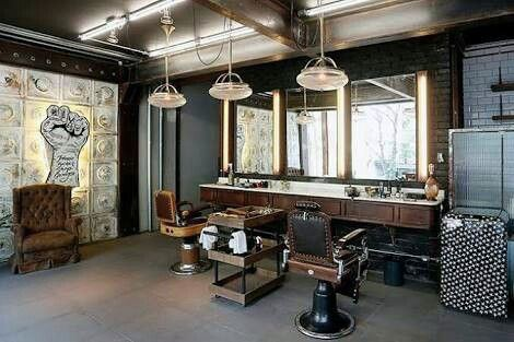 Manly Barber Shop Design Ideas