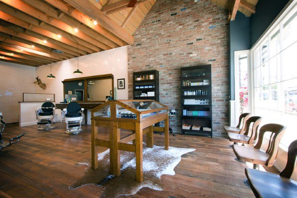 Manly Barber Shop Designs