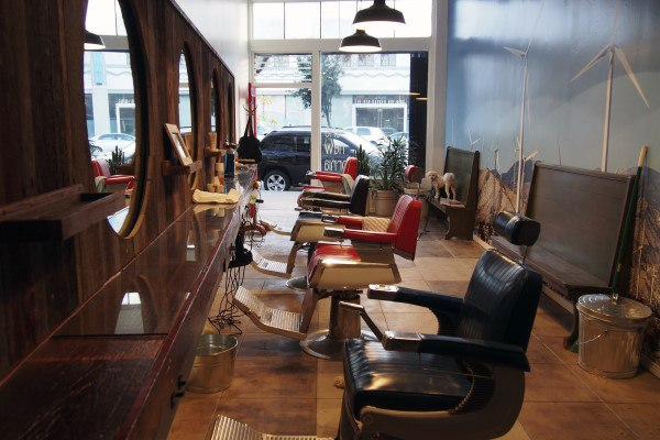 Disegni di Old School Barber Shop