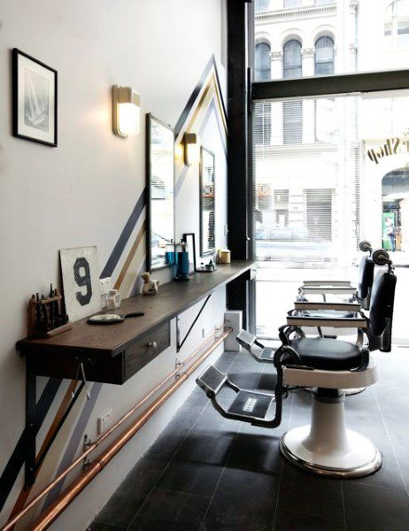 Urban Barber Shop Designs