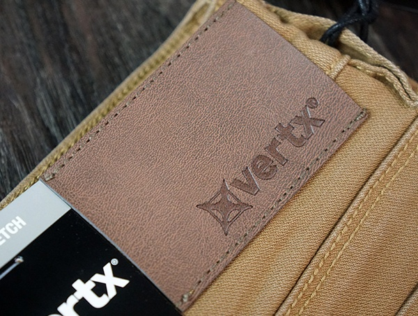 Mens Vertx Delta Strech Bukser Branded Leather Logo