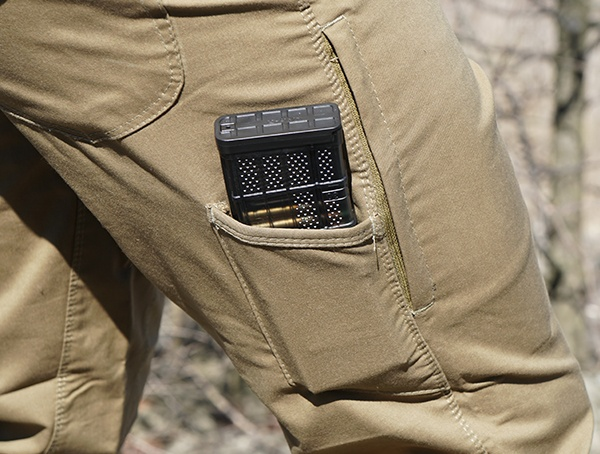 Vertx Hyde Pants apžvalga Side Magazine Pocket